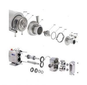 spx apv pump parts