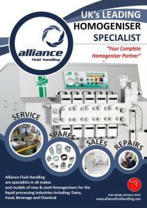 homogeniser brochure from alliance fluid handling
