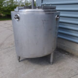 APV st-st jacketed tank